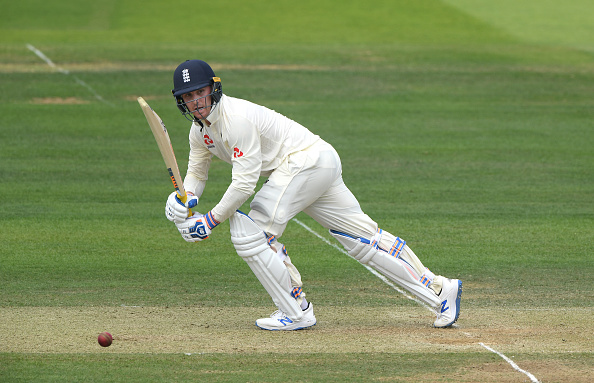 LONDON, ENGLAND - JULY 25: England batsman Jason Roy picks up some runs during day two of the Specsavers Test Match between England and Ireland at Lord's Cricket Ground on July 25, 2019 in London, England. (Photo by Stu Forster/Getty Images)