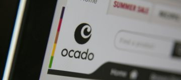BRISTOL, UNITED KINGDOM - AUGUST 11: In this photo illustration a laptop displays the Ocado website on August 11, 2014 in Bristol, United Kingdom. This week marks the 20th anniversary of the first online sale. Since that sale - a copy of an album by the artist Sting - online retailing has grown to such an extent that it is now claimed that 95 percent of the UK population has shopped online and close to one in four deciding to shop online each week. (Photo Illustration by Matt Cardy/Getty Images)