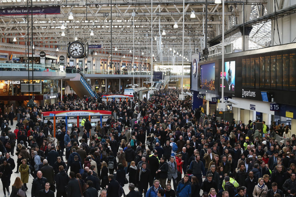 Commuter chaos: Waterloo station line side fire expected to cause disruption on Thursday morning