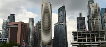 The Tanjong Pagar centre is Singapore's tallest building