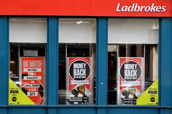Ladbrokes owner GVC is listed on the FTSE 250