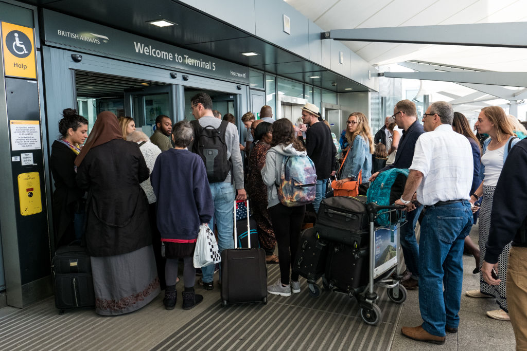 Heathrow luggage delays leave passengers queuing for hours