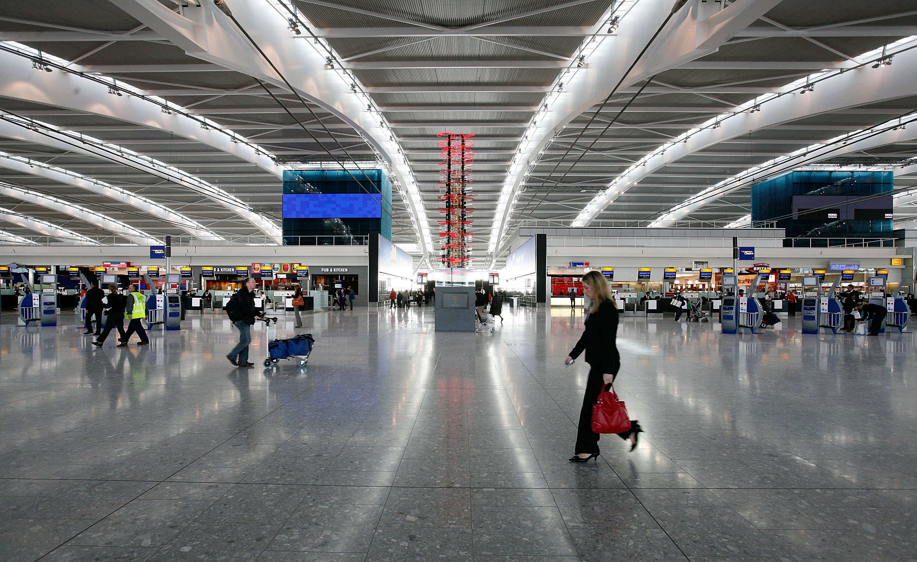 Rugby World Cup fans help Heathrow airport post record October traffic