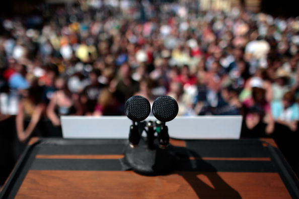 Public speaking – why are we so scared of talking to a crowd?