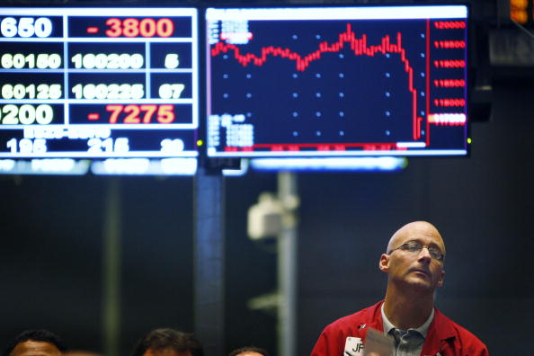 US stock markets open down on interest rate worries