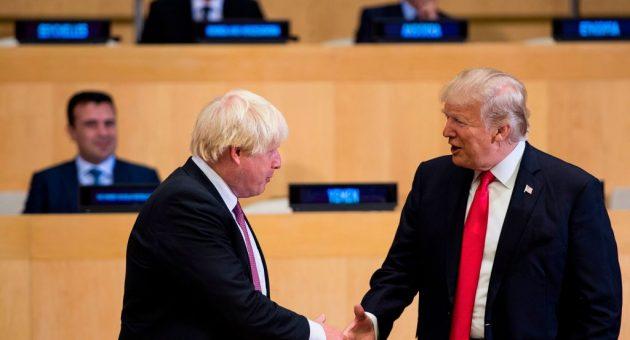 Boris Johnson would do a 'great job' as Prime Minister, says Trump