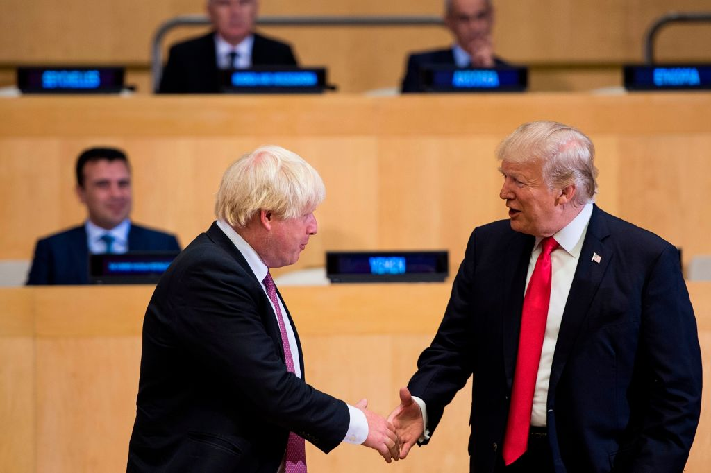 Boris Johnson would do a 'great job' as Prime Minister, says Trump