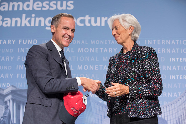 Mark Carney too busy to think about IMF role – for now