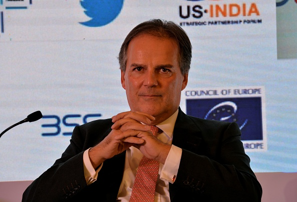 Mark Field was suspended after footage was released of him grabbing a climate activist