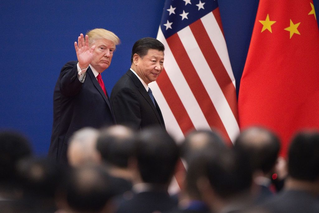 China has been in a standoff with the US over trade