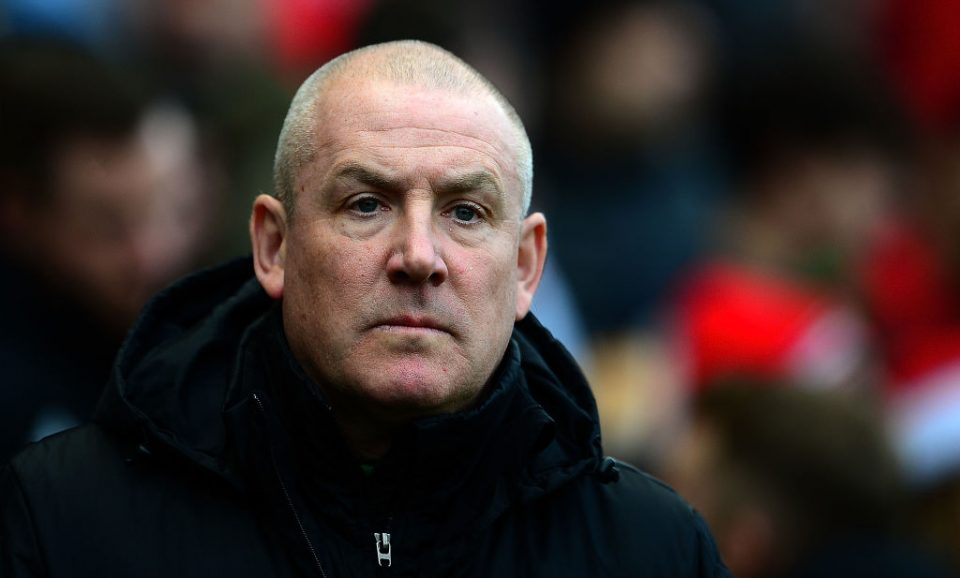 BRISTOL, ENGLAND - DECEMBER 16: Mark Warbuton, Manager of Nottingham Forest during the Sky Bet Championship match between Bristol City and Nottingham Forest at Ashton Gate on December 16, 2017 in Bristol, England. (Photo by Harry Trump/Getty Images)