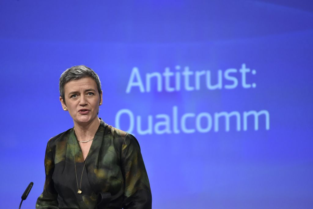 Qualcomm braced for second EU antitrust fine