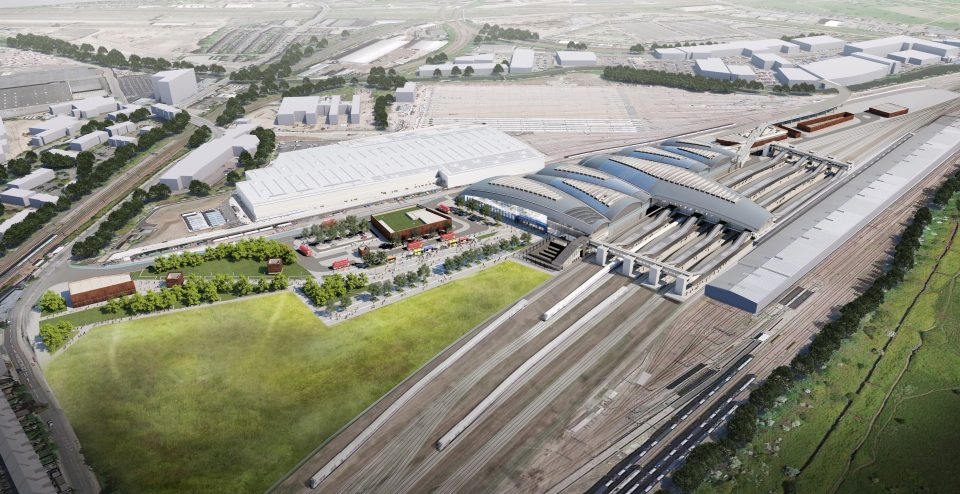 HS2 awarded the £1.3bn Old Oak Common contract to the Balfour Beatty-led consortium in February