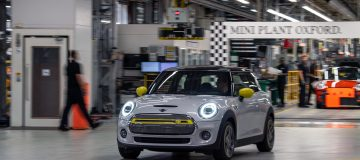 The electric Mini is to be manufactured in the UK