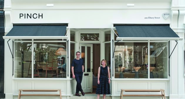 Pinch brings boutique British interiors to Pimlico's design district