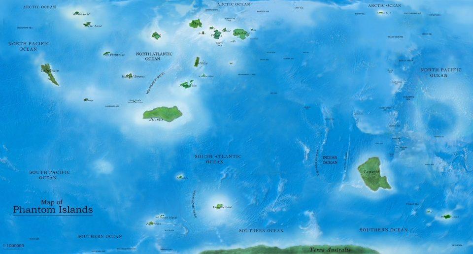 Ostrovy Phantom existujú už stovky rokov, no stále sú neobjavené