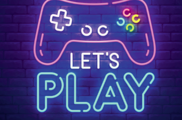 Let's Play graphic