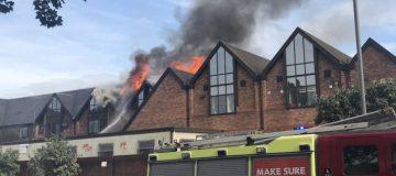 Walthamstow fire: 100 firefighters battle shopping centre blaze