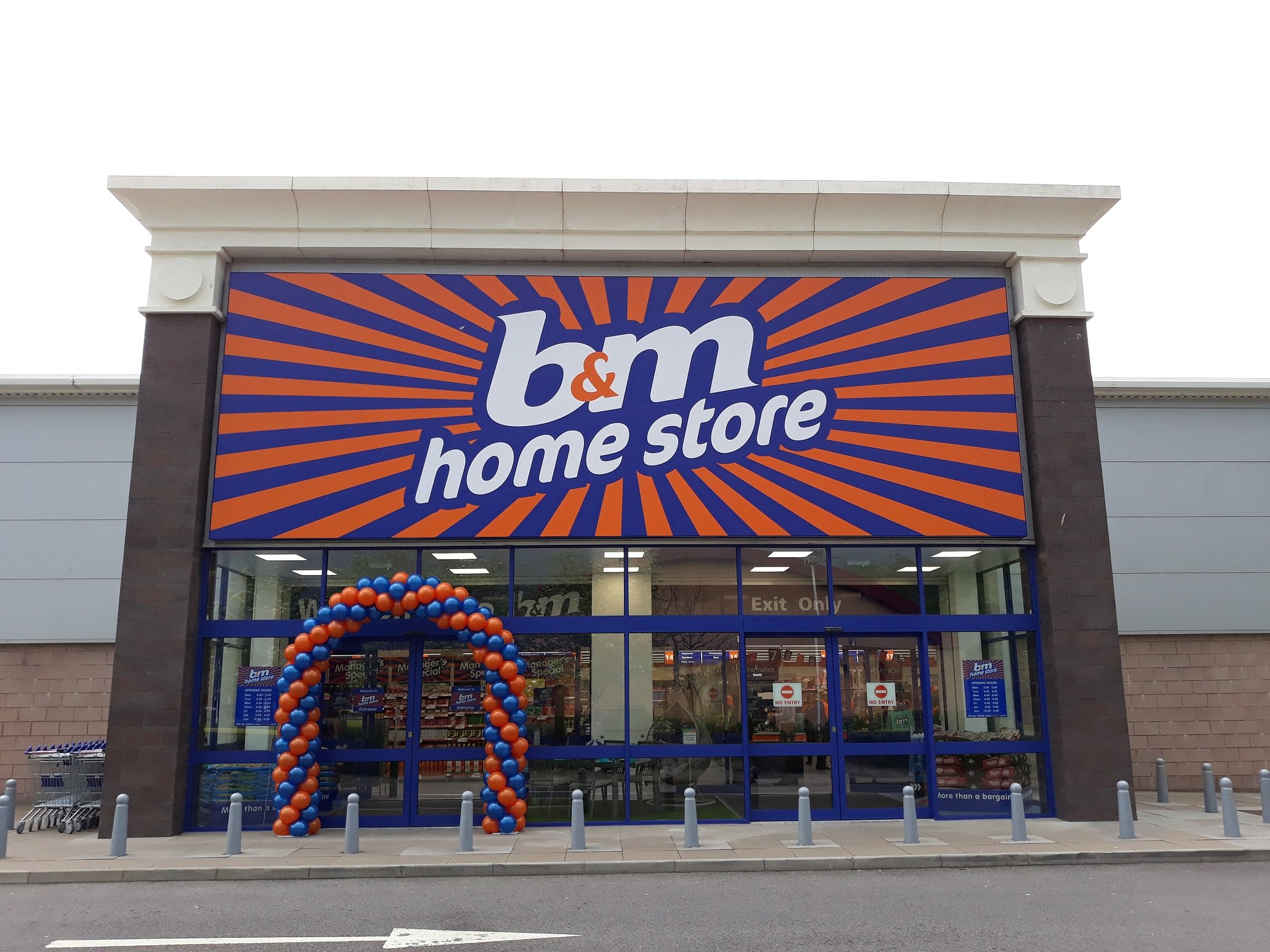 B&M boosts revenue as expansion plan continues