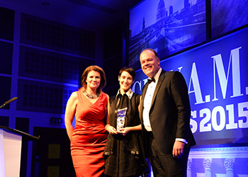 Sarah Wood (Unruly) Entrepreneur of the Year 2015