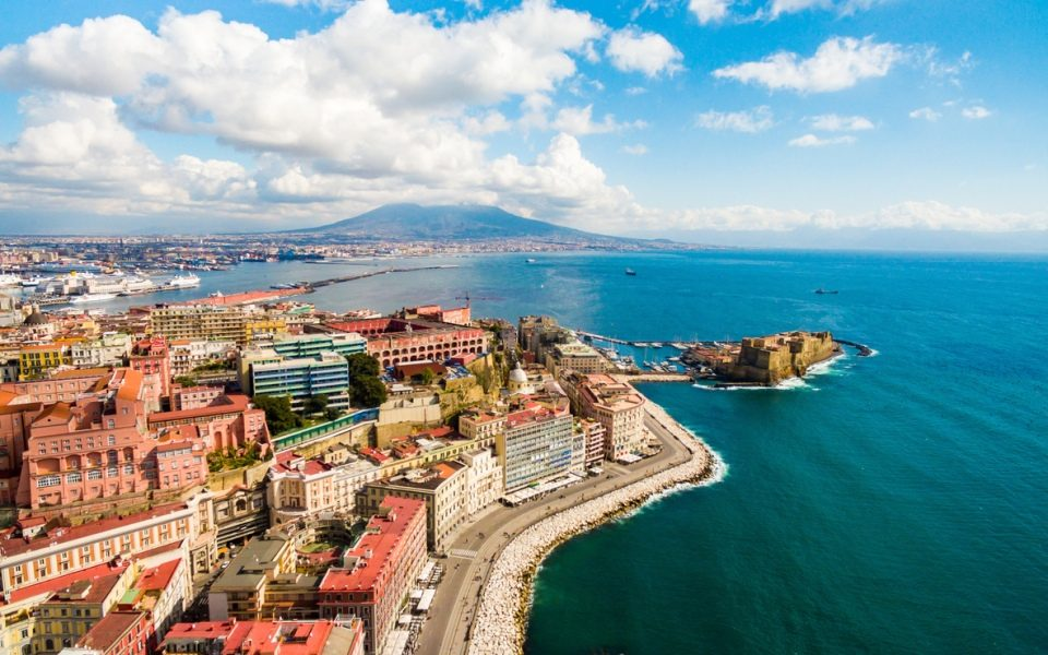 Naples coastline
