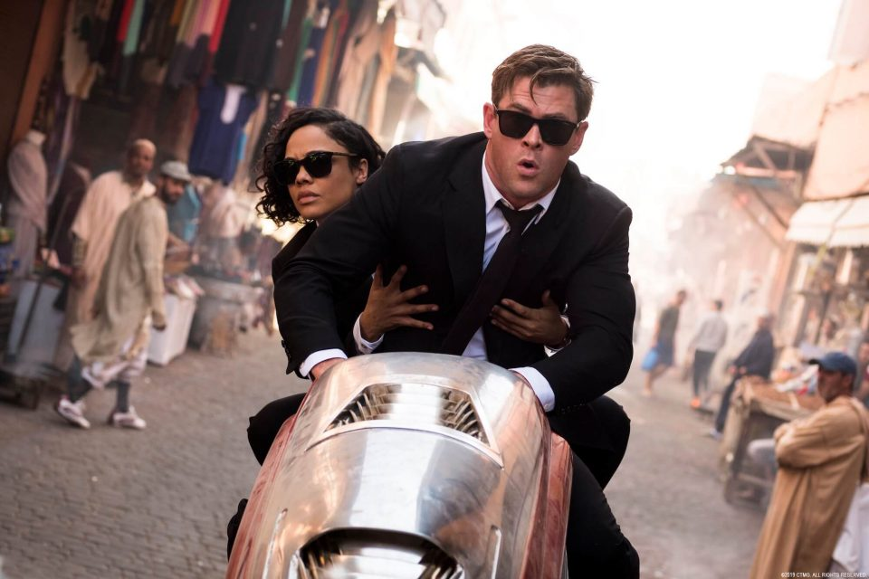 Men in Black International Chris Hemsworth Tessa Thompson Sony