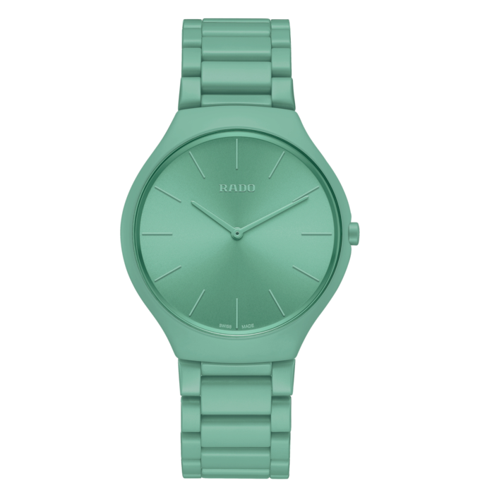 Let there be colour: Rado's range of watches made to Le Corbusier's famous colour system are deliciously on trend