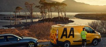 Driving association the AA saw its profit rise nearly a fifth over the financial year, and said it expected this year's performance to be only marginally lower