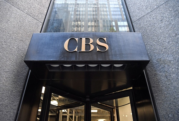 The CBS logo is seen at the CBS Building, headquarters of the CBS Corporation, in New York City on August 6, 2018. (Photo by ANGELA WEISS / AFP) (Photo credit should read ANGELA WEISS/AFP/Getty Images)