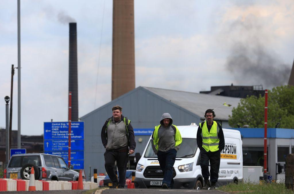 Britain's economy contracts in second quarter under Brexit pressure