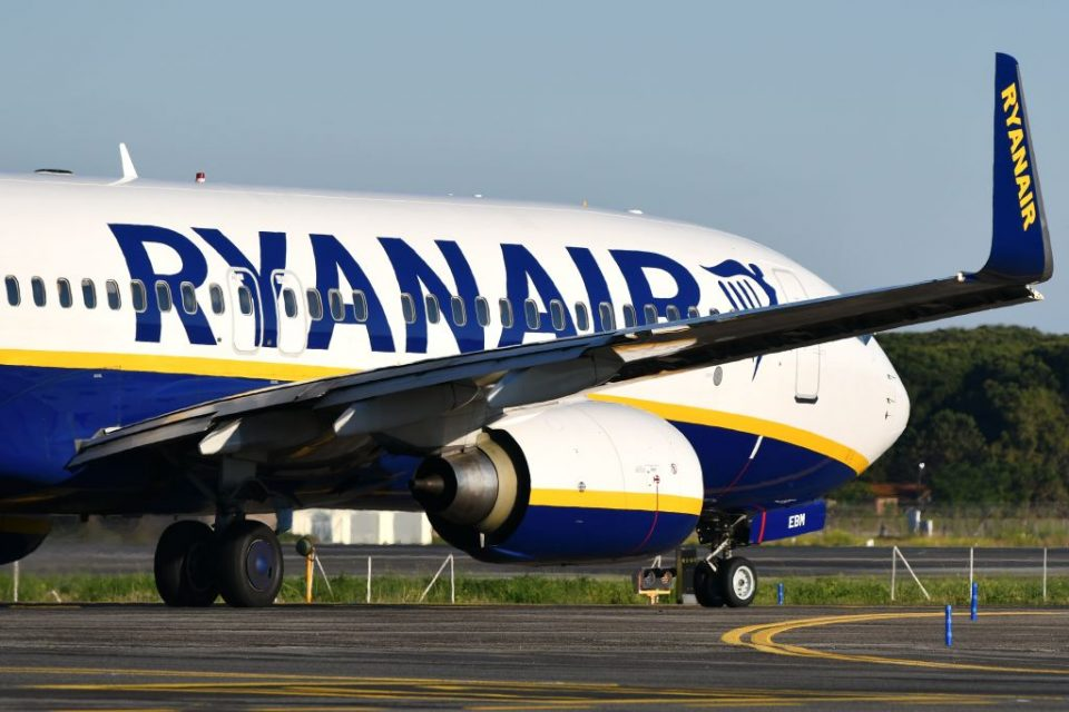 Ryanair said it was operating a normal schedule