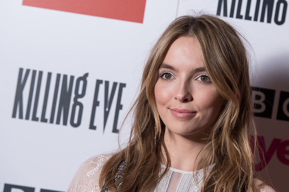"""LONDON, ENGLAND - MAY 14: Jodie Comer attends the """"Killing Eve"""" Series Two premiere at Curzon Soho on May 14, 2019 in London, England. (Photo by Jeff Spicer/Getty Images)"""