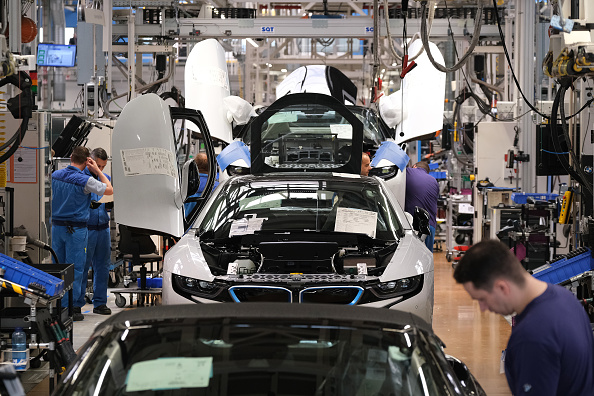 German economy shrinks in second quarter as exports slump