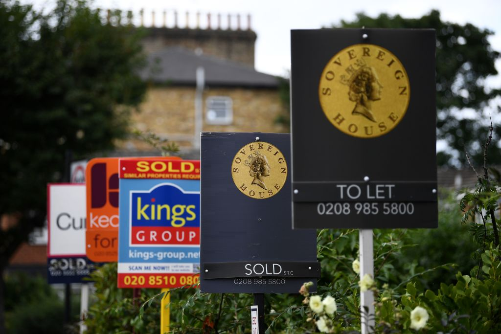 London house prices continue to slide in June