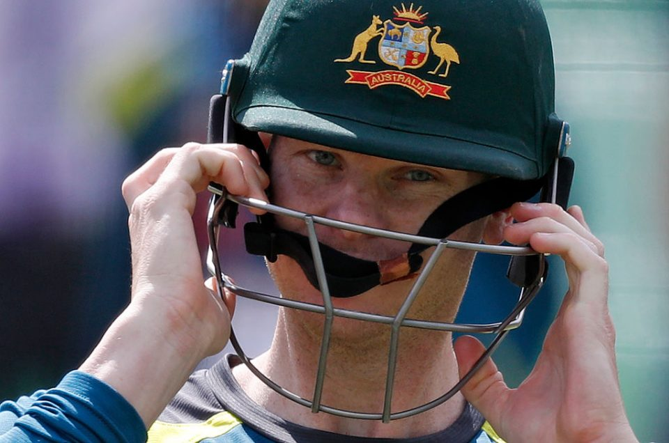 Australia's Steve Smith attends a practice session at Lord's Cricket Ground in London on August 13, 2019 on the eve of the second Ashes cricket Test match between England and Australia. (Photo by Adrian DENNIS / AFP) / RESTRICTED TO EDITORIAL USE. NO ASSOCIATION WITH DIRECT COMPETITOR OF SPONSOR, PARTNER, OR SUPPLIER OF THE ECB        (Photo credit should read ADRIAN DENNIS/AFP/Getty Images)