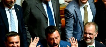 Italy's League floats tax cut paid for by deficit