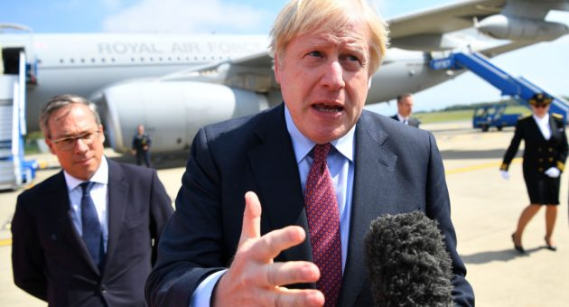 Trump says Boris Johnson is the 'right man' to deliver Brexit as he promises 'very big' trade deal