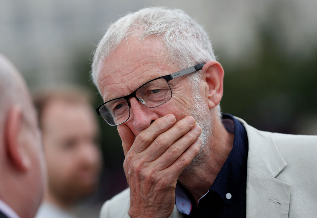 Corbyn fails to drum up support for plan to block no-deal Brexit