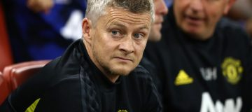 CARDIFF, WALES - AUGUST 03: Ole Gunnar Solskjaer manager of Manchester United during the 2019 International Champions Cup match between Manchester United and AC Milan at Principality Stadium on August 03, 2019 in Cardiff, Wales. (Photo by Michael Steele/Getty Images)