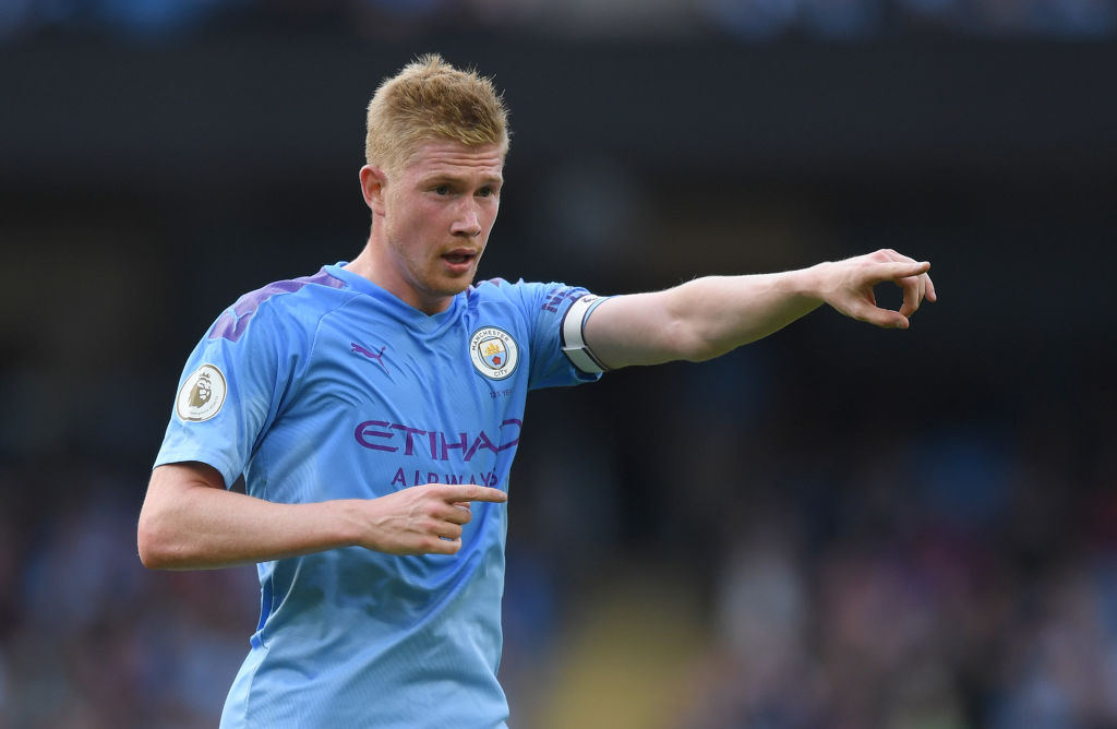 new products 732f1 e38fb Kevin De Bruyne: Manchester City's playmaker is back and ...
