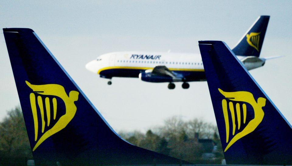 Ryanair flew 14.9m passengers in August