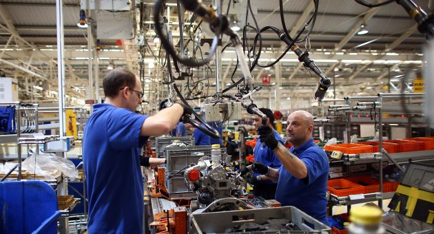 Manufacturing output stabilises despite 'Brexit millstone' hampering firms