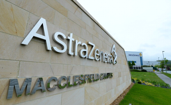 Pharmaceuticals giant Astrazeneca saw profit nearly halve in the fourth quarter as the firm hit a bump in its road to recovery.