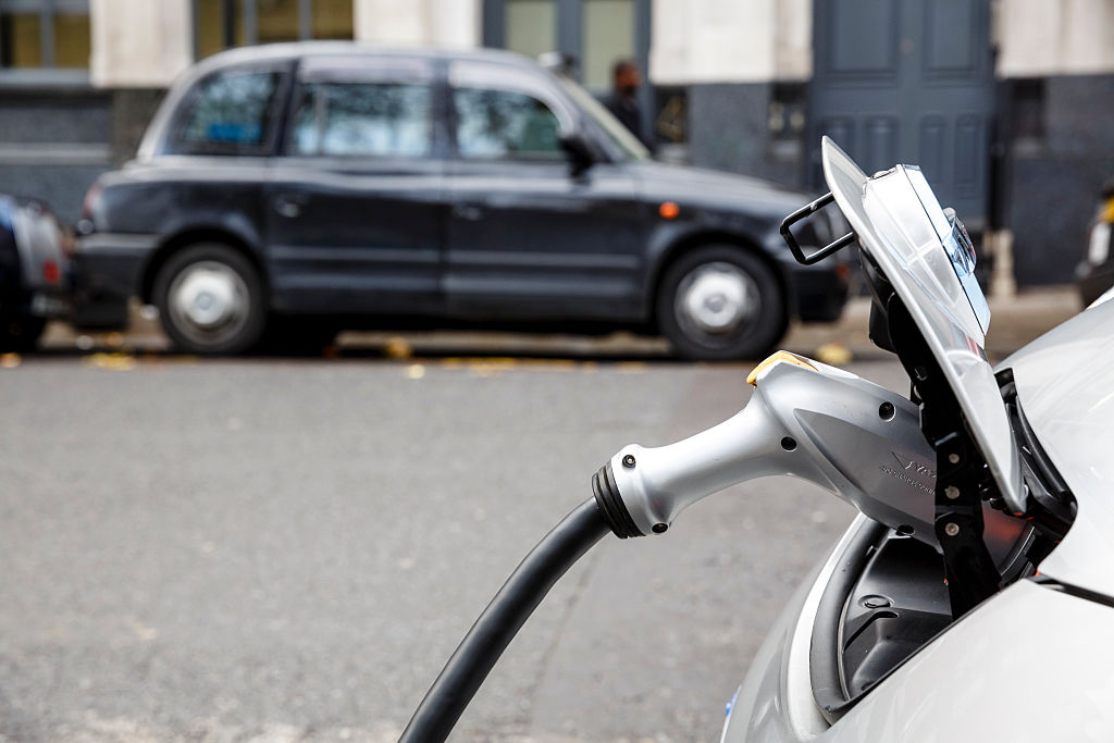 Electric car charging points outnumber petrol stations