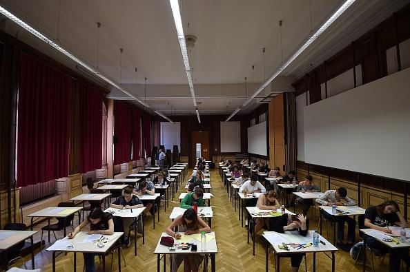 University, exam results