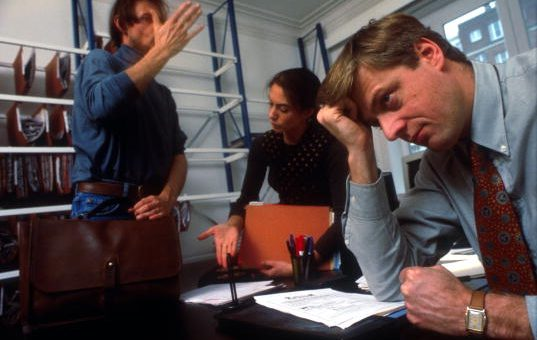 Let's call time on poisonous workspaces that are causing stress