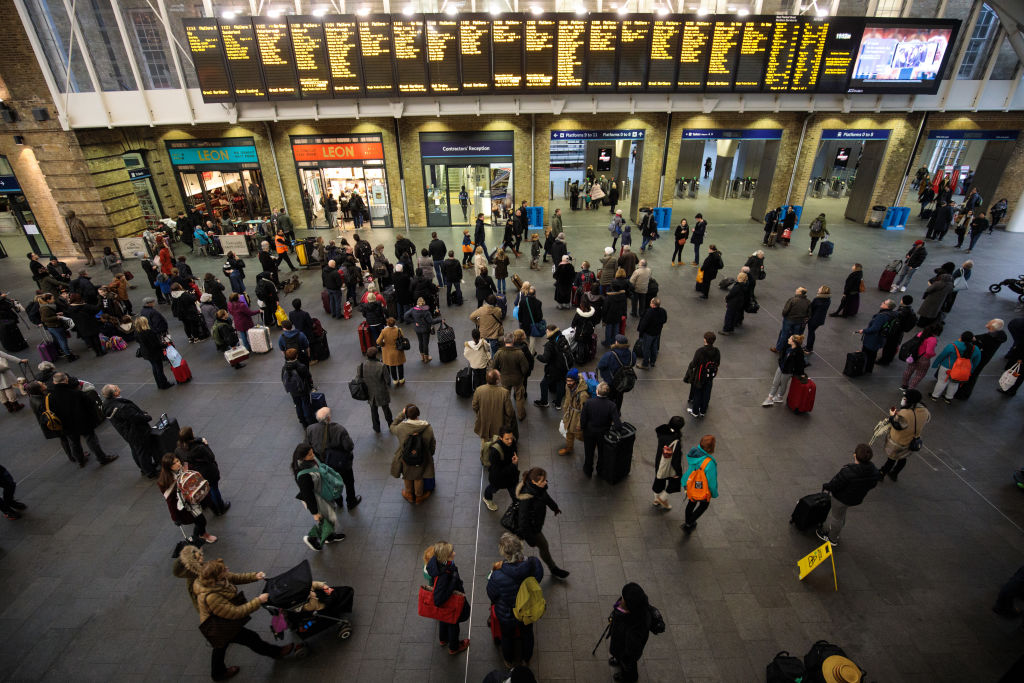 Passengers told to avoid King's Cross on Bank Holiday weekend