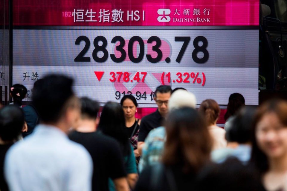 Global stock markets spooked by chaos in Hong Kong and Argentina