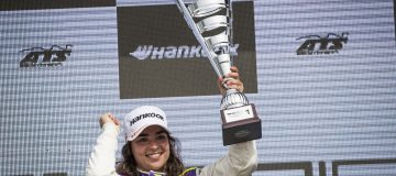 Jamie Chadwick is living life in the fast lane as she races toward F1 dream
