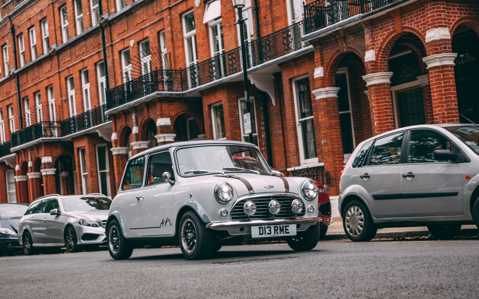 The David Brown Mini Remastered is a small car with a big price tag